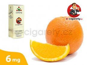 E-liquid Dekang Pomeranč (Orange) - 10ml, 6mg