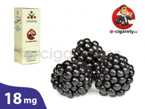 E-liquid Dekang Ostružina (Blackberry) - 10ml, 18mg