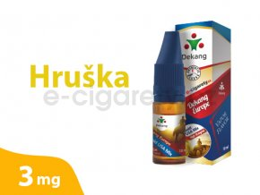DekangEU liquid hruška 10ml 3mg