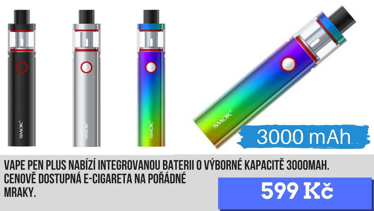 Smok vape pen plus 3000mAh