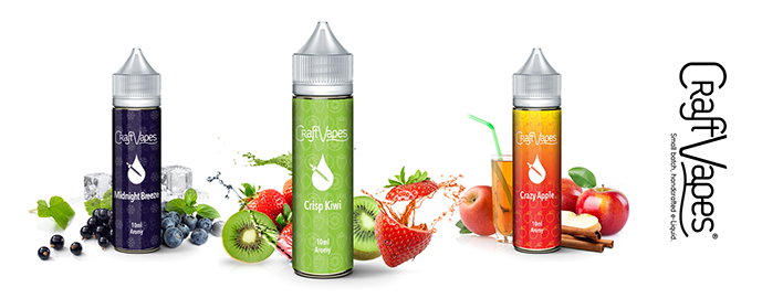 Příchutě Craft Vapes Shake & Vape 10ml