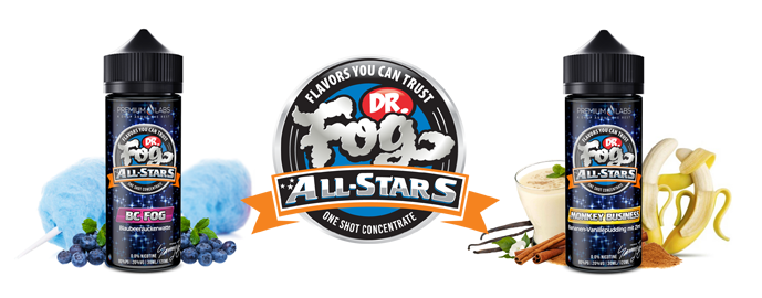 Příchutě Dr. Fog All-Stars Shake & Vape 30ml