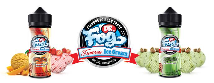 Příchutě Dr. Fog Ice Cream Shake & Vape 30ml