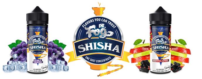 Příchutě Dr. Fog Shisha Shake & Vape 30ml