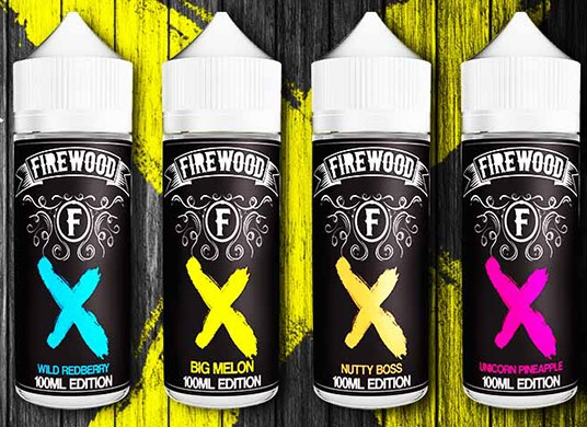 Příchutě FIREWOOD Shake and Vape 15ml