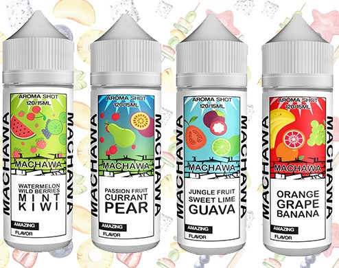 Příchutě MACHAWA Shake and Vape 15ml
