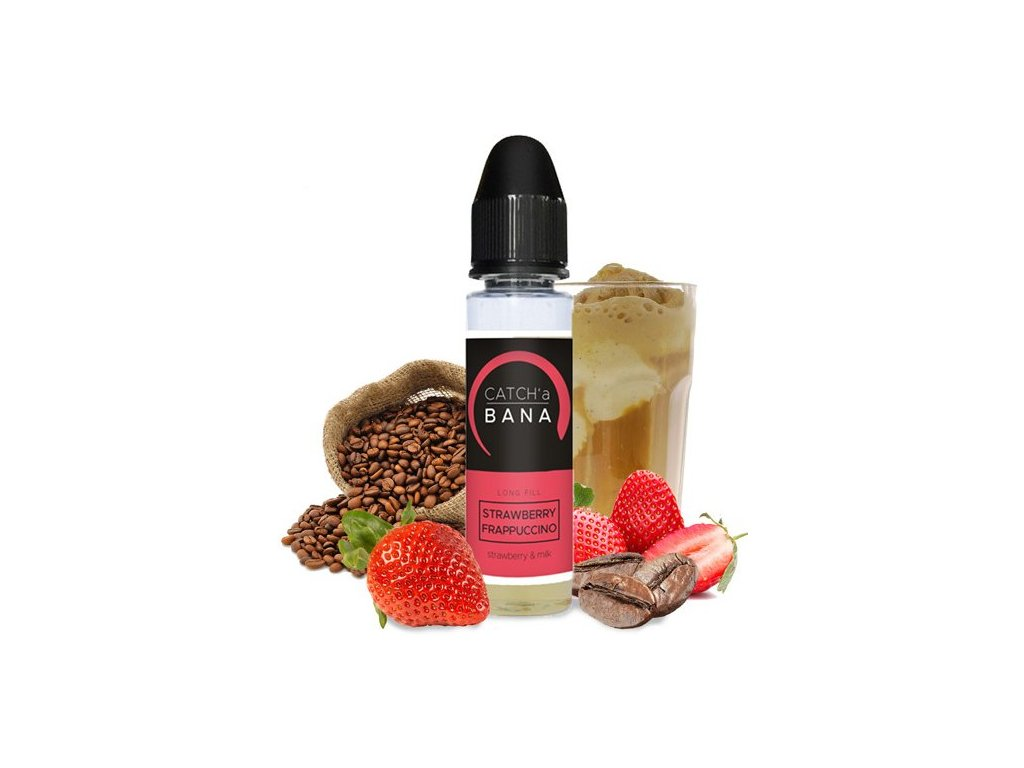 Příchuť IMPERIA Catch´a Bana - SaV 10ml Strawberry Frappucinno