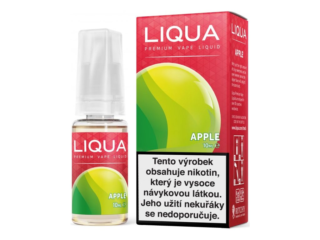 Liquid LIQUA Elements Apple 10ml-6mg (jablko)