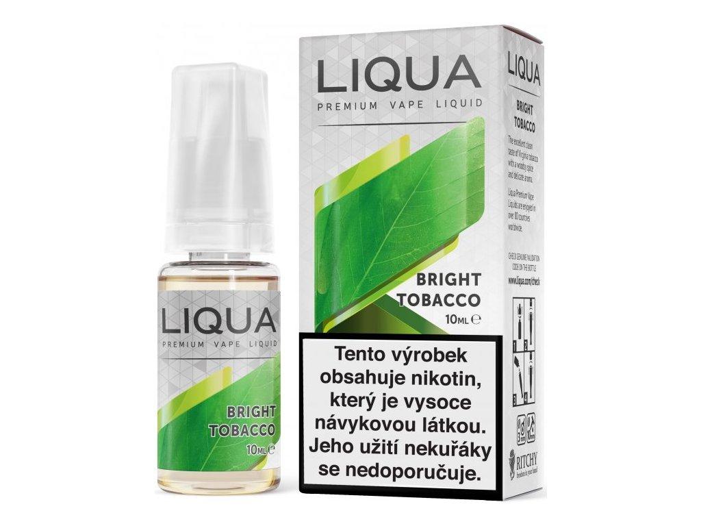 Liquid LIQUA Elements Bright Tobacco 10ml-3mg (čistá tabáková příchuť)