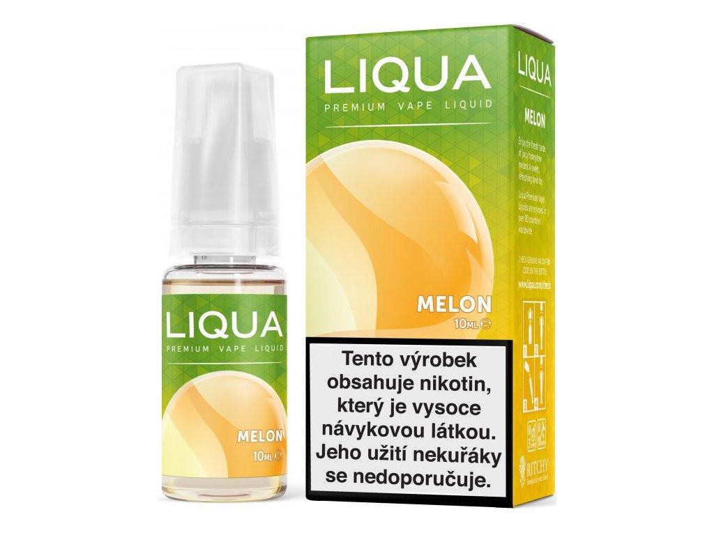 Liquid LIQUA Elements Melon 10ml-3mg (Žlutý meloun)