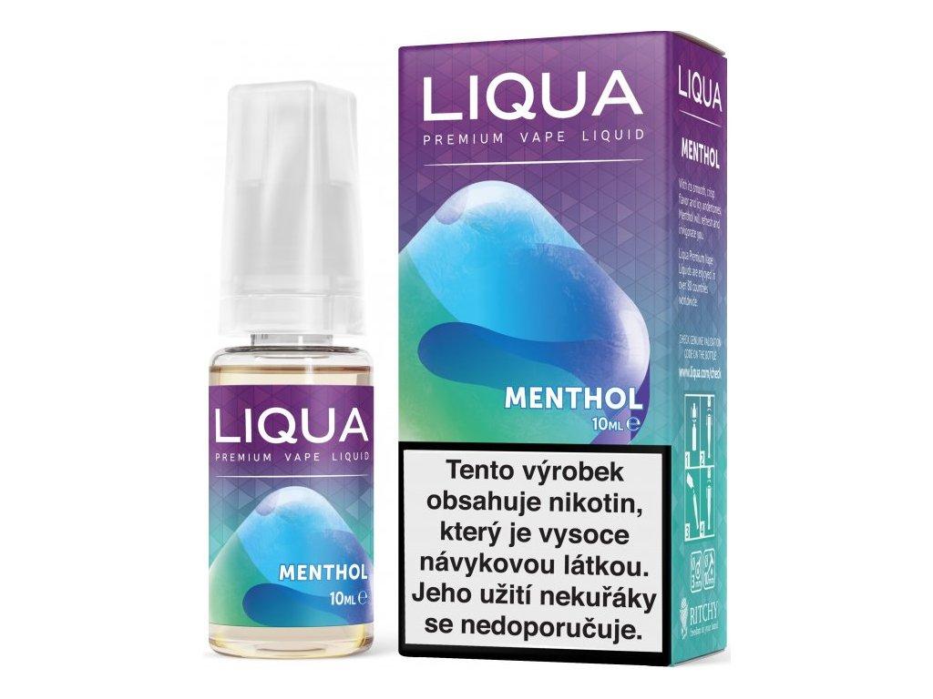 Liquid LIQUA Elements Menthol 10ml-3mg (Mentol)