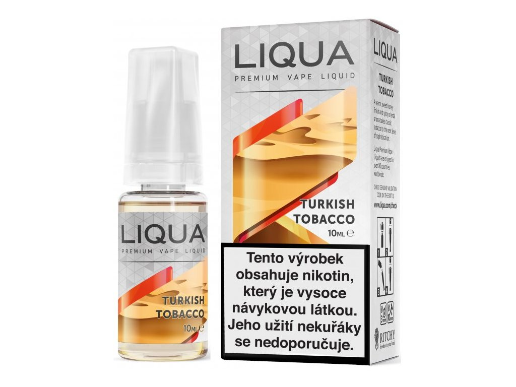 Liquid LIQUA Elements Turkish Tobacco 10ml-18mg (Turecký tabák)