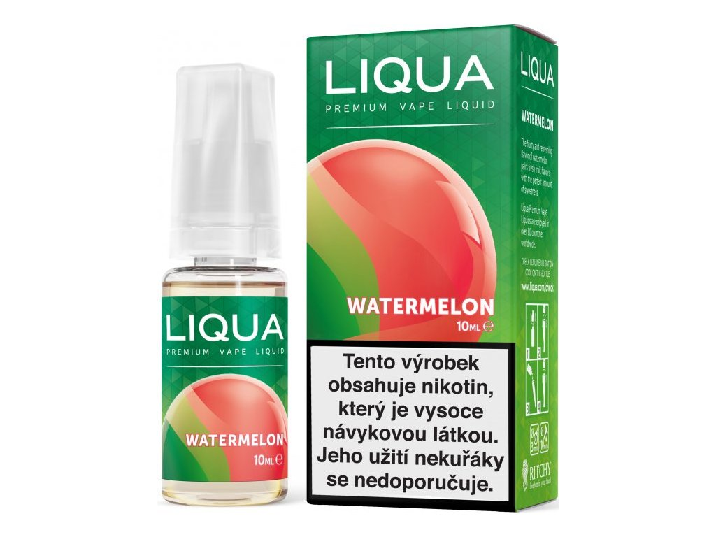Liquid LIQUA Elements Watermelon 10ml-12mg (Vodní meloun)