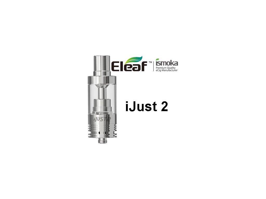 Eleaf iJust 2 clearomizer EC 0,3ohm Stříbrná