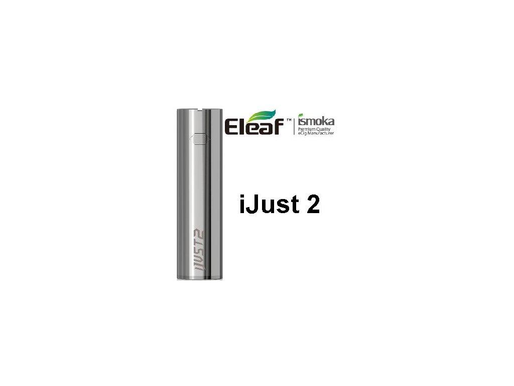 Eleaf iJust 2 baterie 2600mAh Stříbrná