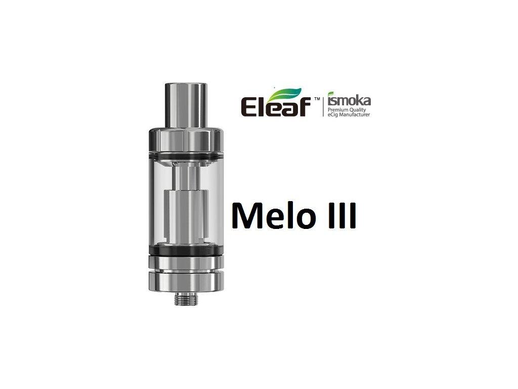Eleaf Melo 3 clearomizer Stříbrná