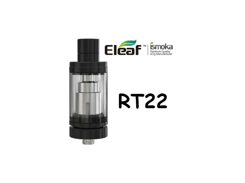 Eleaf Melo RT 22 clearomizer Černá