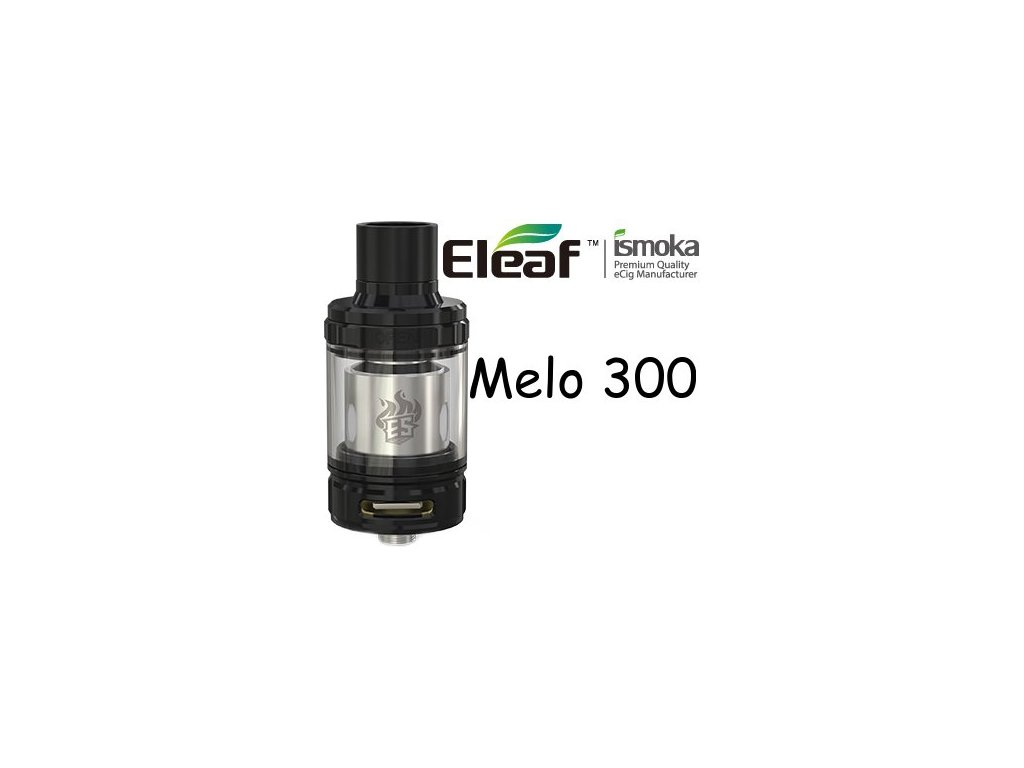 Eleaf Melo 300 clearomizer 6,5ml Černá