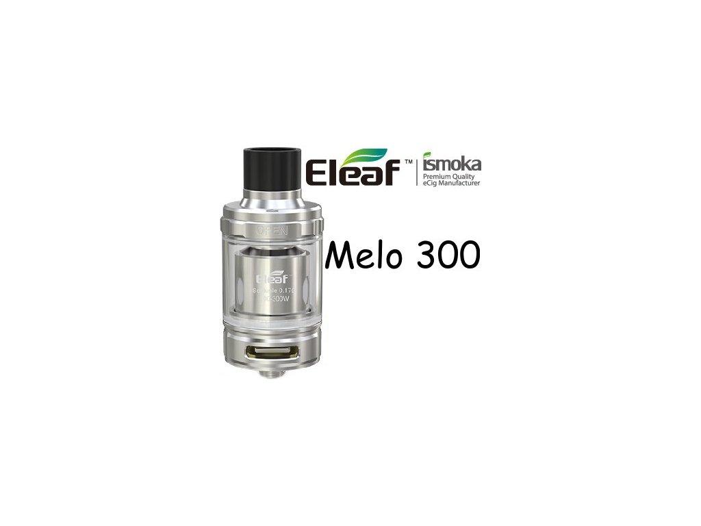 Eleaf Melo 300 clearomizer 6,5ml Stříbrná