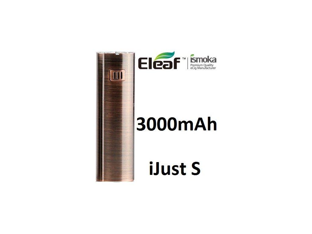 Eleaf iJust S baterie 3000mAh Brushed Bronze