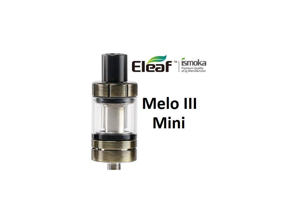 Eleaf Melo 3 Mini clearomizer Brushed Gunmetal