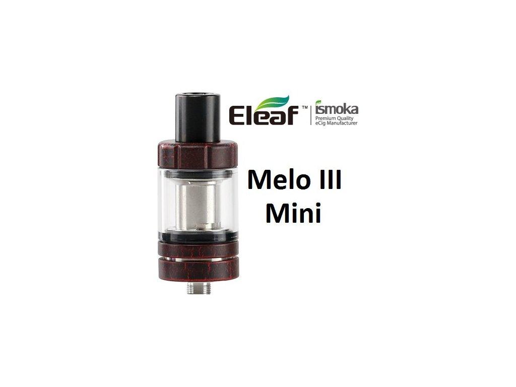 Eleaf Melo 3 Mini clearomizer Červená Crackle