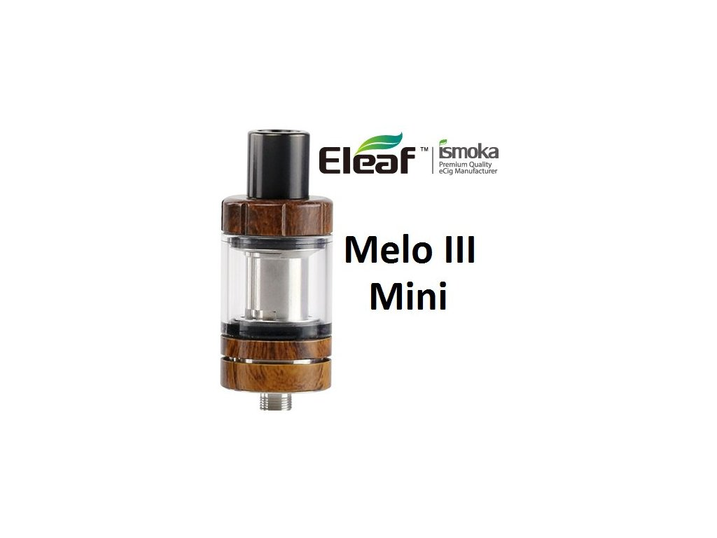 Eleaf Melo 3 Mini clearomizer Wood Grain