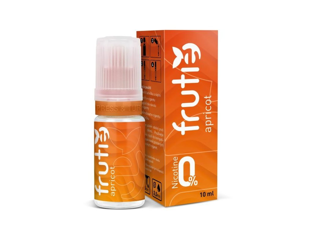 Liquid Frutie - Meruňka 0mg (Apricot)