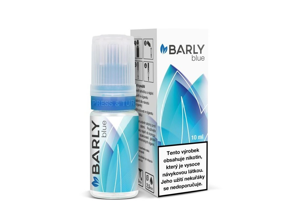 Liquid Barly Blue 8mg