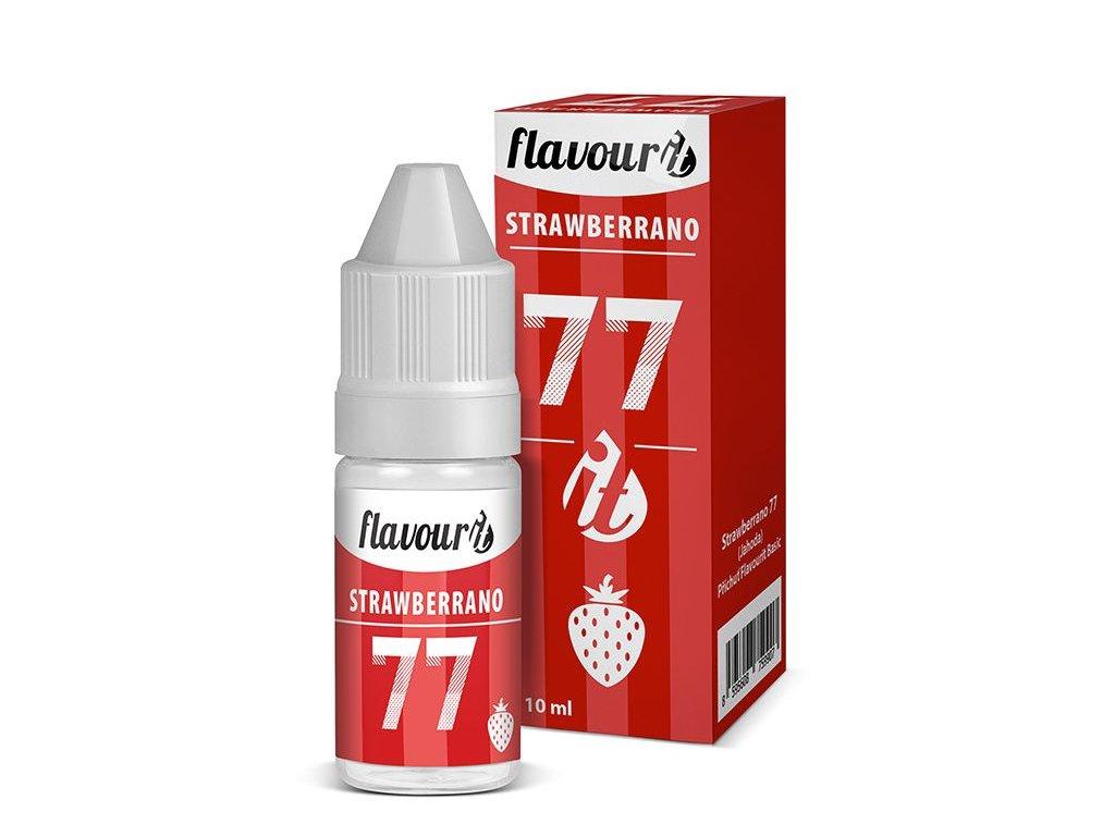 Příchuť Strawberrano 77 Jahoda - Flavourit