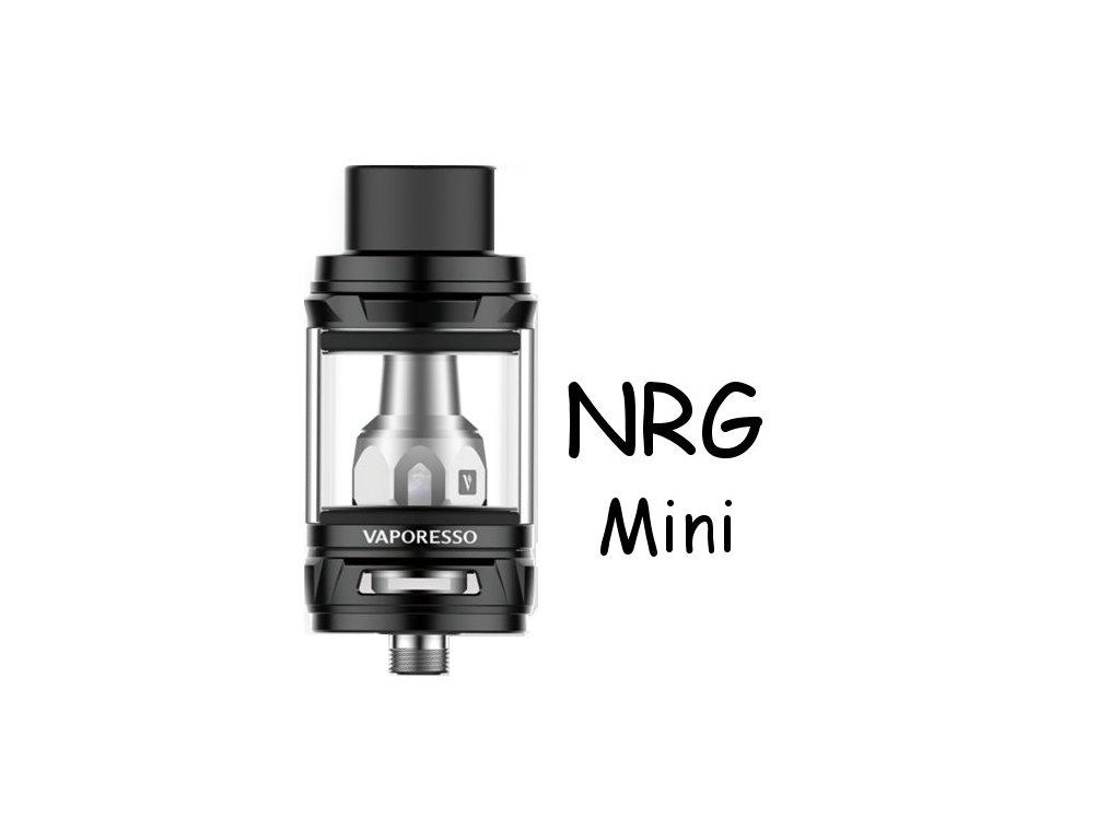 Vaporesso NRG Mini clearomizer 2ml Černý