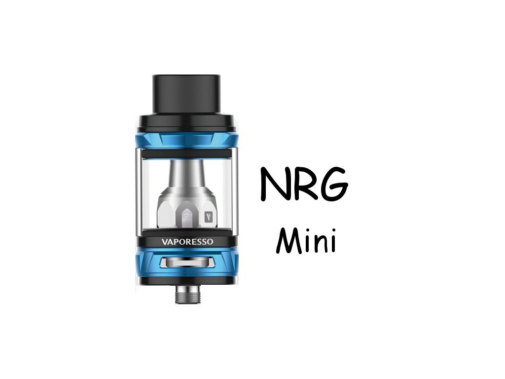Vaporesso NRG Mini clearomizer 2ml Modrý