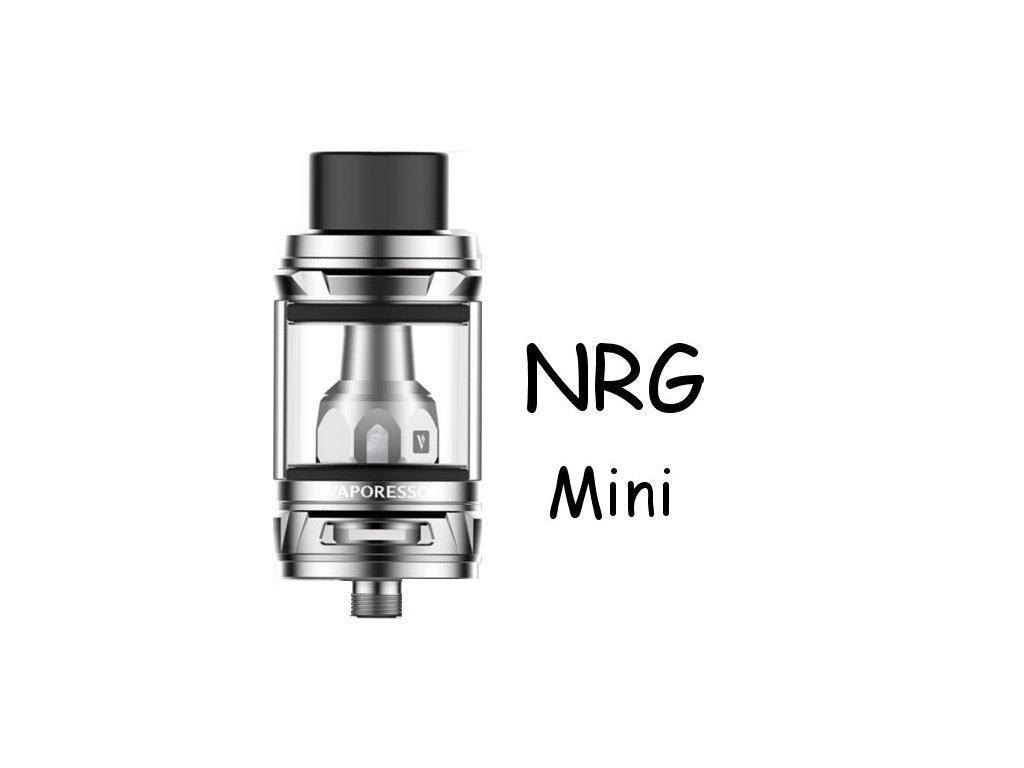 Vaporesso NRG Mini clearomizer 2ml Stříbrný