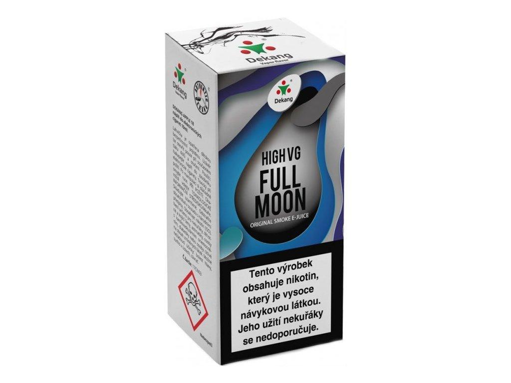 Liquid Dekang High VG Full Moon 10ml - 3mg (Maracuja bonbon)