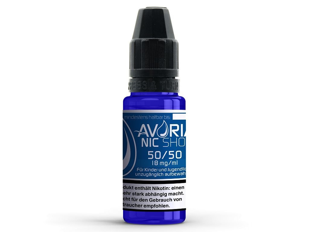 Avoria Báze 18mg VPG 50/50 10ml