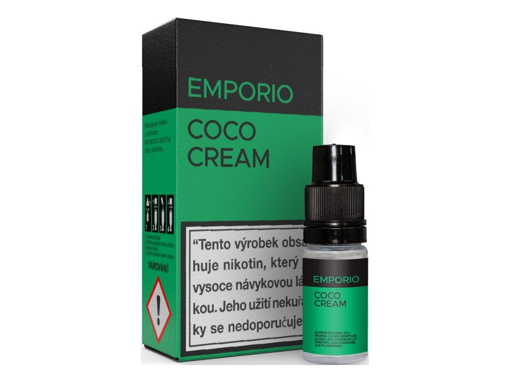 Liquid EMPORIO Coco Cream 10ml - 12mg