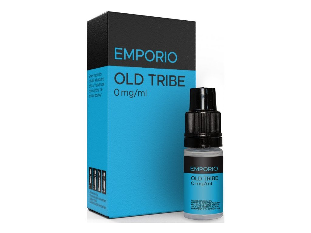 Liquid EMPORIO Old Tribe 10ml - 0mg