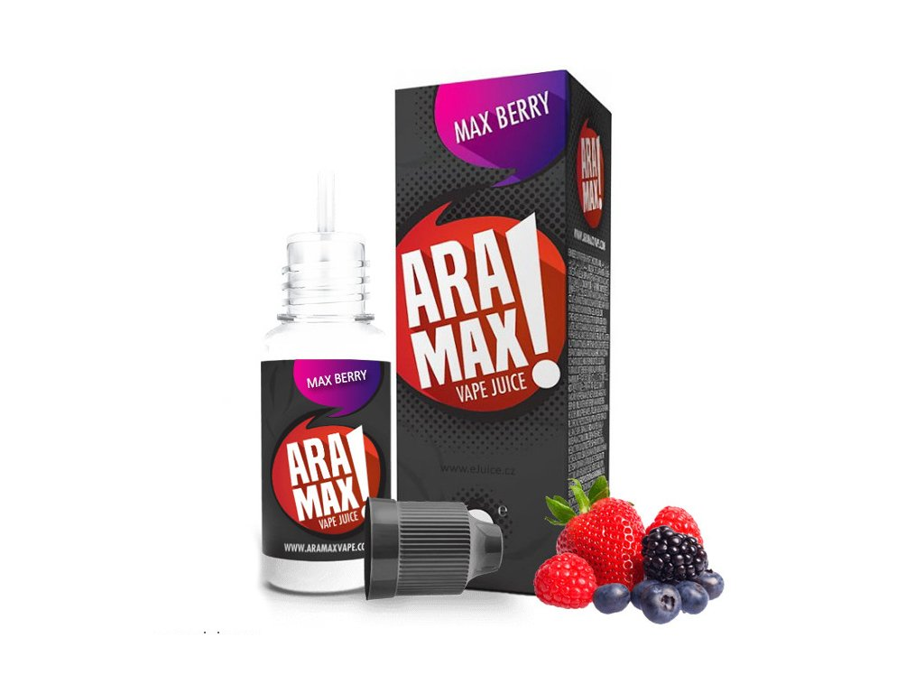 Liquid ARAMAX Max Berry 10ml-12mg