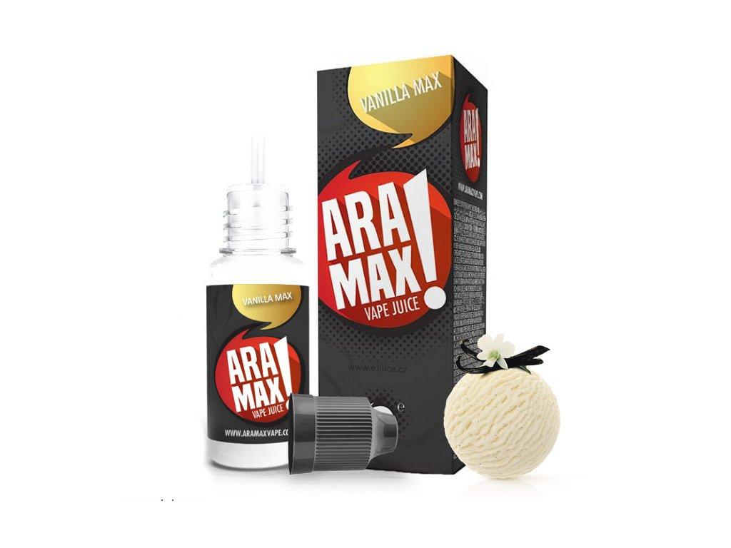 Liquid ARAMAX Vanilla Max 10ml-6mg