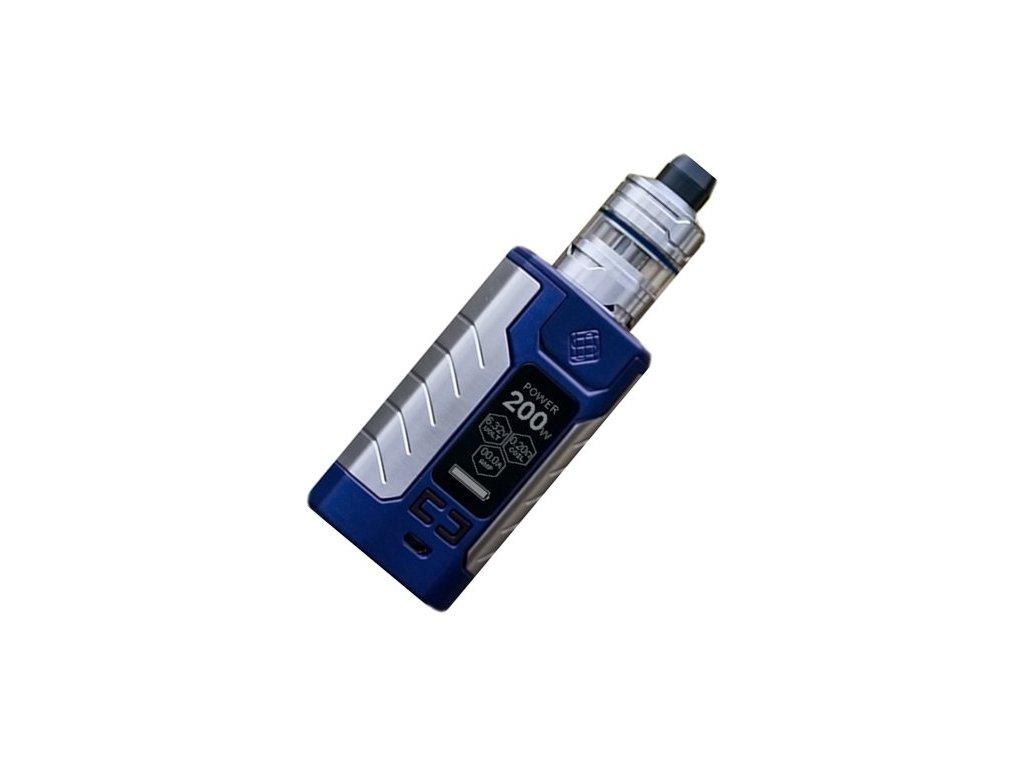 Wismec SINUOUS FJ200 grip 4600mAh Full Kit Modrá