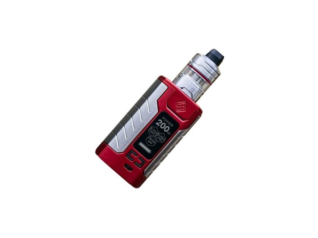 Wismec SINUOUS FJ200 grip 4600mAh Full Kit Červená