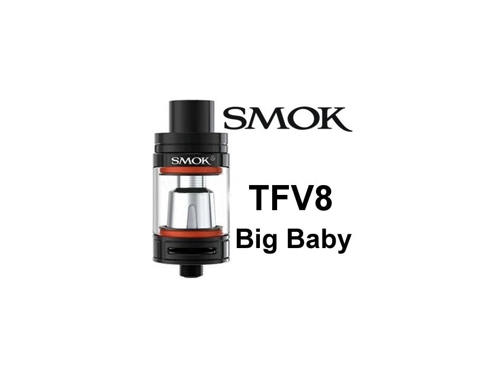Smok TFV8 Big Baby clearomizer Black