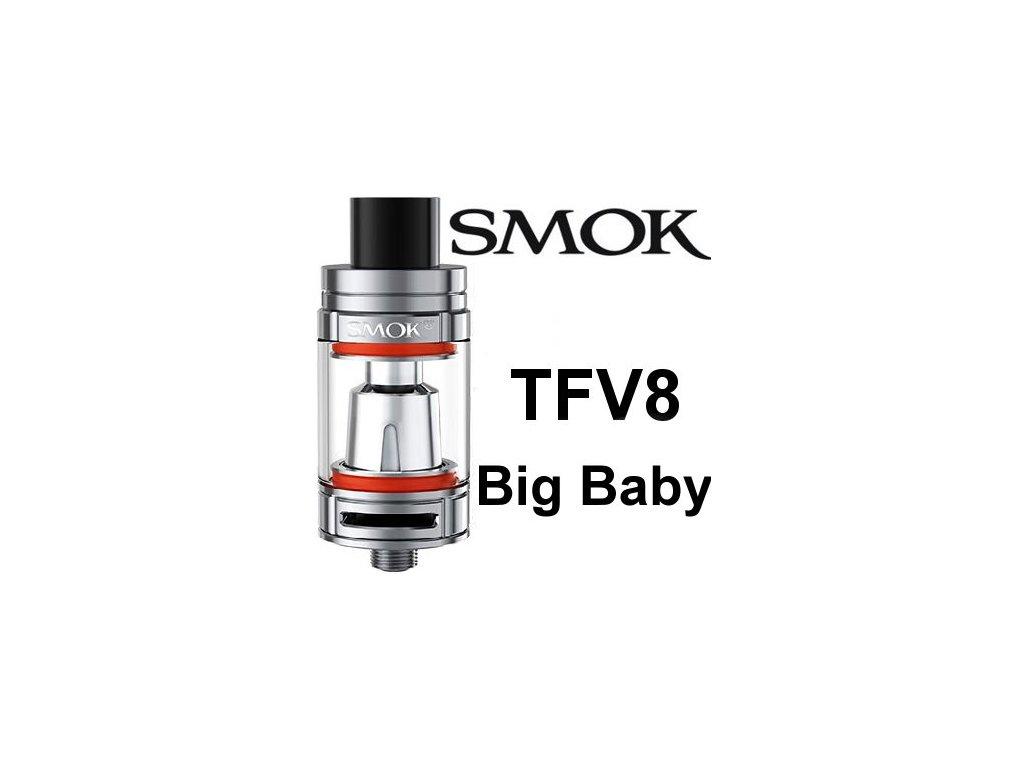 Smok TFV8 Big Baby clearomizer Silver