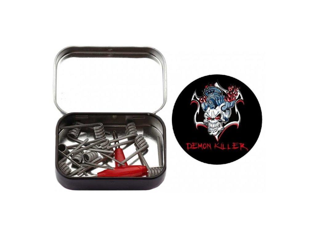 Demon Killer Staple Stagge Red Fused Clapton spirálky 0.3ohm 10ks