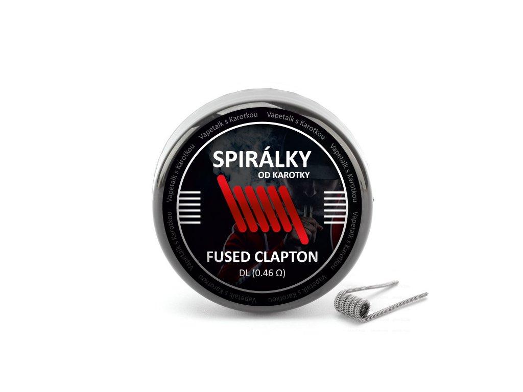 Spirálky od Karotky - DL Fused Clapton 0,46ohm (10ks)