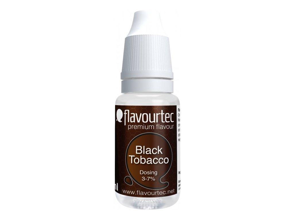 Příchuť Flavourtec Black Tobacco 10ml (Černý tabák)