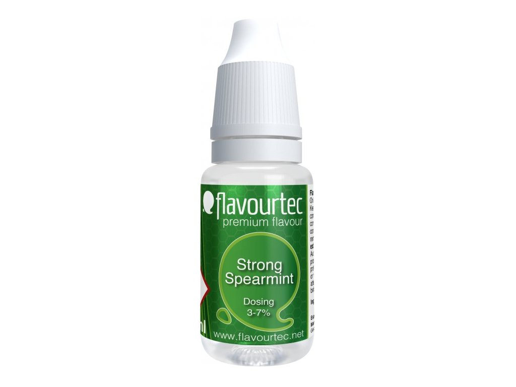Příchuť Flavourtec Strong Spearmint 10ml (Silná máta)
