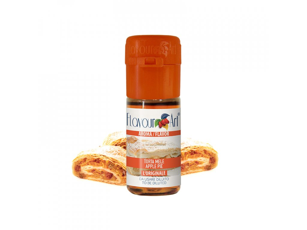 Příchuť FlavourArt: Jablečný koláč (Apple Pie) 10ml