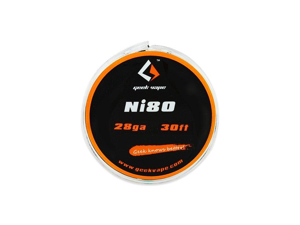 Ni80 - odporový drát 0,3mm 28GA (10m) - GeekVape
