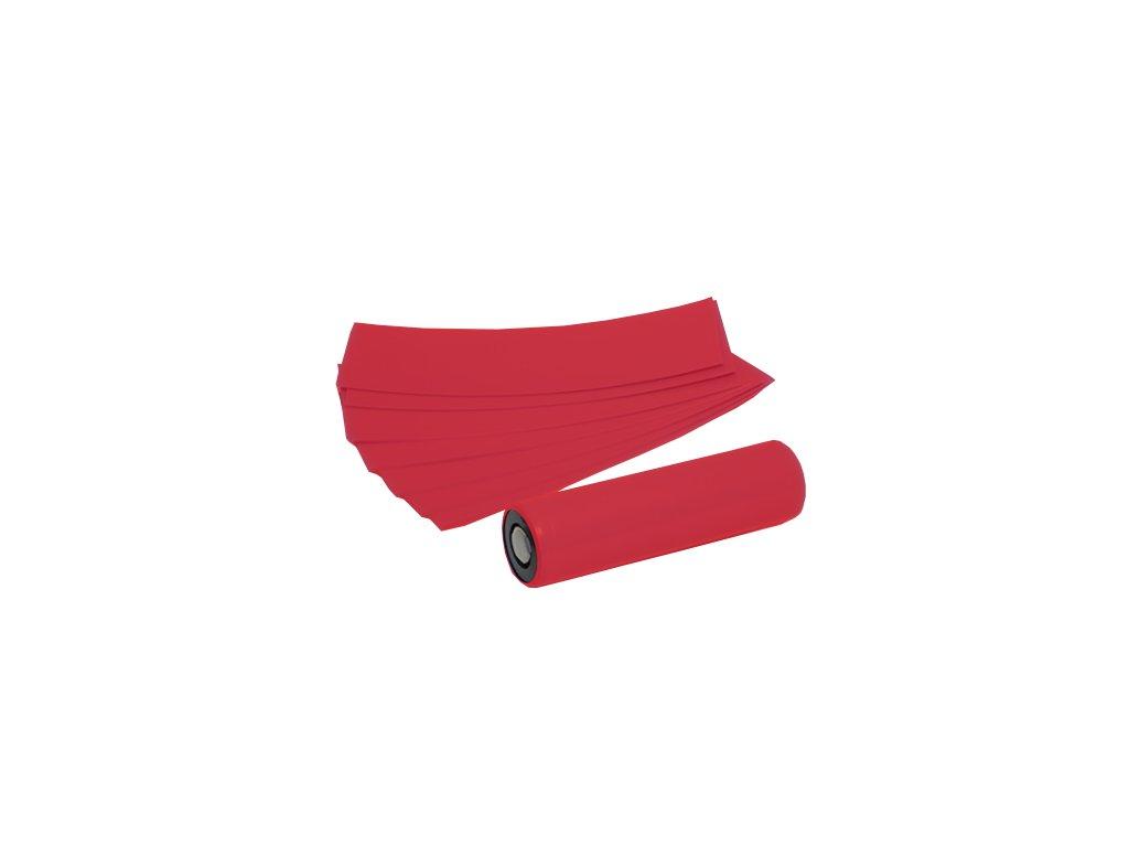 Smršťovací folie pro baterie 18650 (Červená) (5ks)